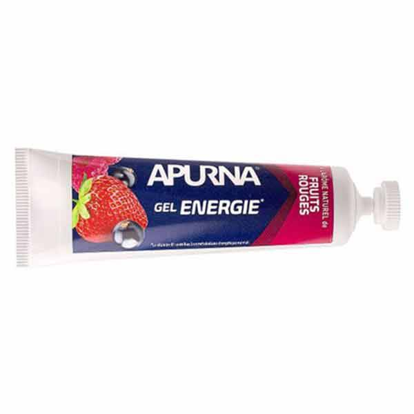 Apurna Gel Energie Longue Distance Fruits Rouges 35g