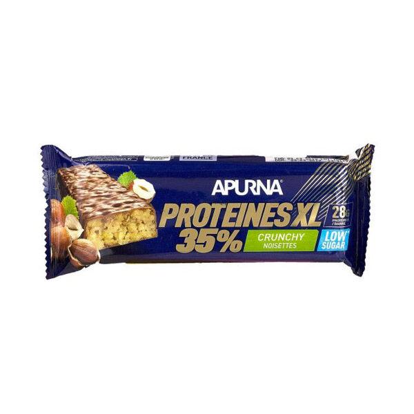 Apurna Barre Hyperprotéinée XL Crunchy Noisette 80g
