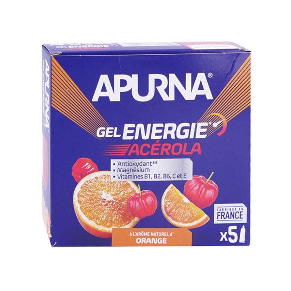 Apurna Gel Energie Acérola Orange Etui 5 unités