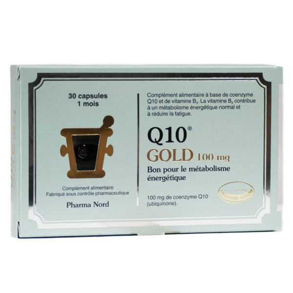 Pharma Nord Q10 Gold 100mg 30 capsules