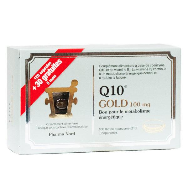 Pharma Nord Q10 Gold 100mg 120 capsules + 30 capsules Offertes
