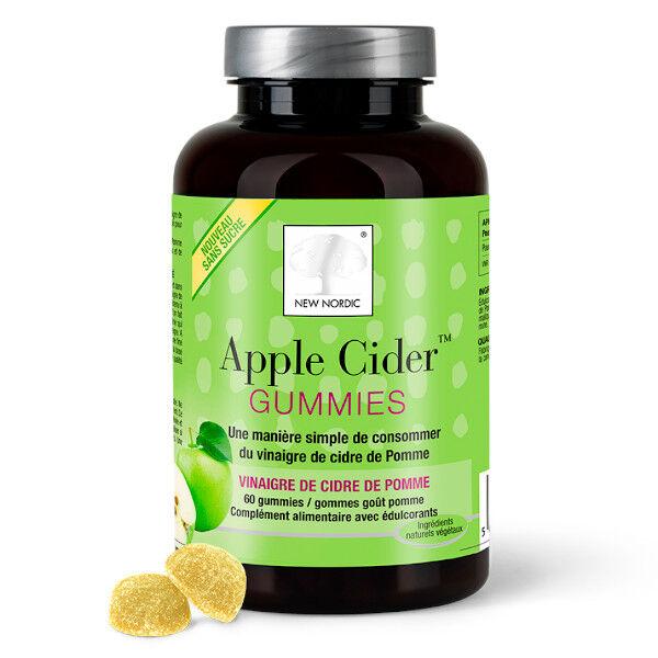 New Nordic Gummies Apple Cider 60 gums