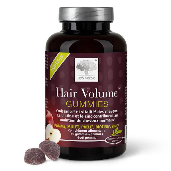New Nordic Gummies Hair Volume 60 gommes