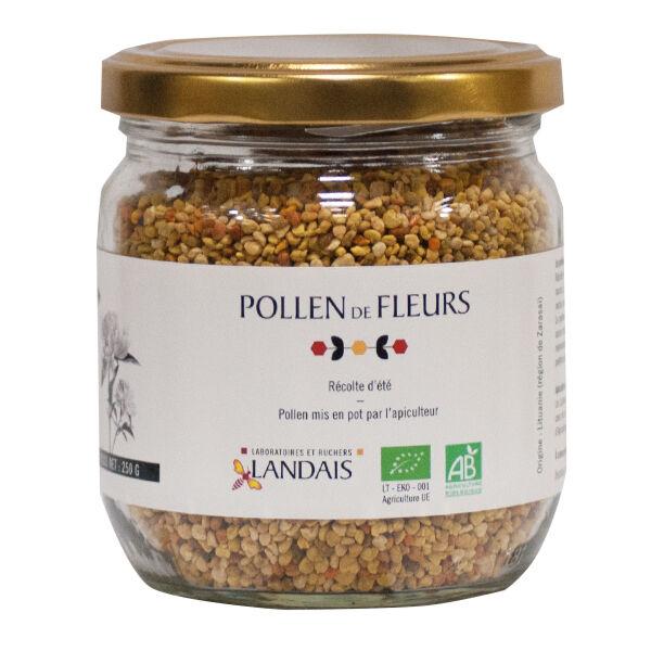 Landais Pollen de Fleurs Récolte d'été Bio 250g