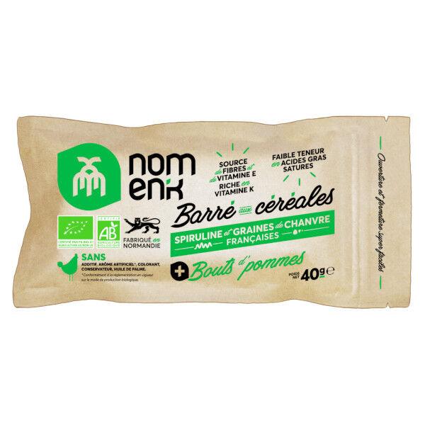Nomank Barré Aux Céréales Pomme 40g