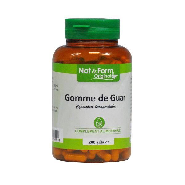 Nat & Form Original Gomme de Guar 200 gélules