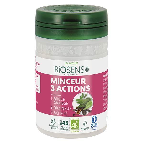Biosens Minceur 3 Actions Bio 45 gélules végétales