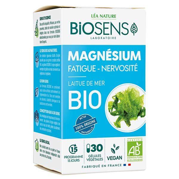Biosens Magnésium Bio 30 gélules végétales