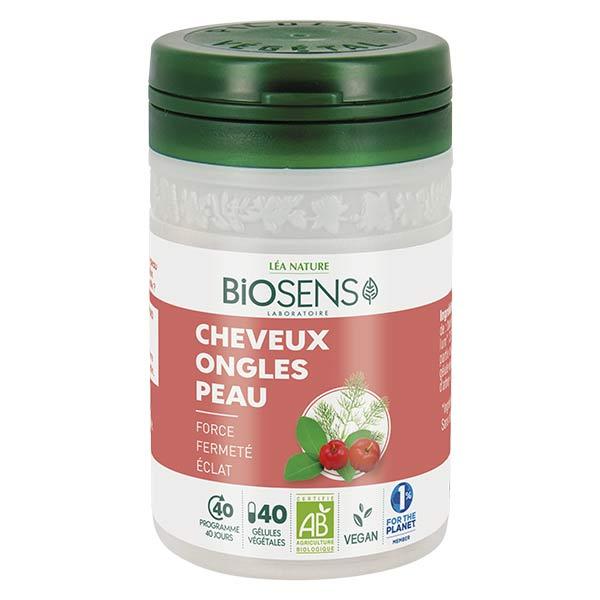 Biosens Cheveux Peau Ongles Bio 40 gélules végétales