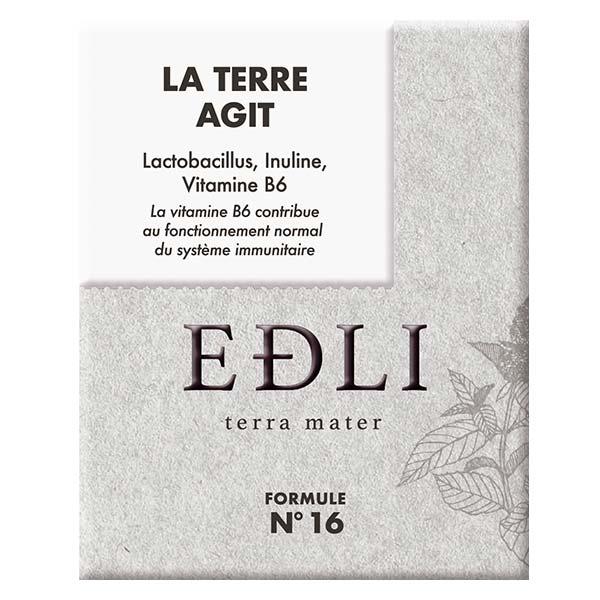 Edli La Terre Agit Formule N°16 Lactobacillus Inuline Vitamine B6 14 sachets