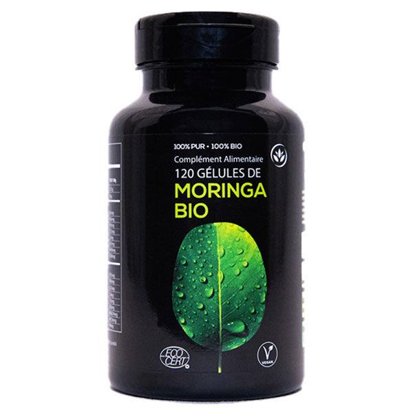 Grow Green Complément Alimentaire Moringa Bio 120 gélules