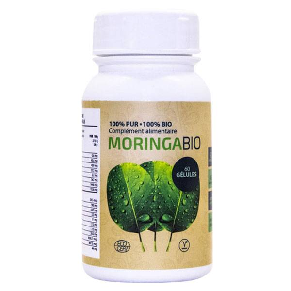 Grow Green Complément Alimentaire Moringa Bio 60 gélules