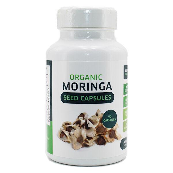 Grow Green Complément Alimentaire Graines de Moringa Bio 90 capsules