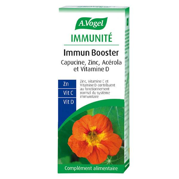 A.Vogel Immun Booster Vitamine D et Zinc 30 comprimés