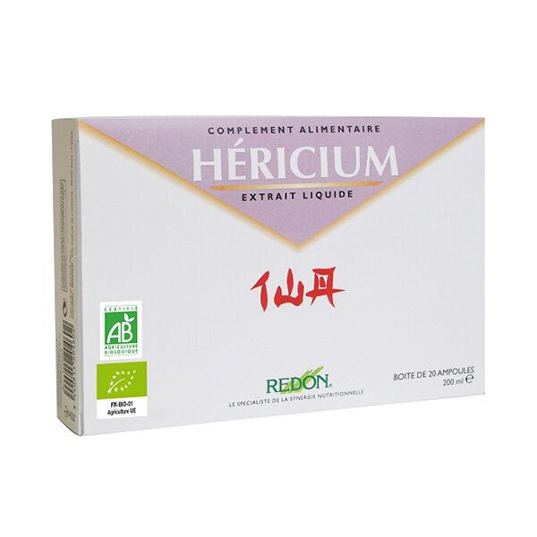 Redon Santé d'Orient Redon Hericium Bio Extrait Liquide 20 ampoules