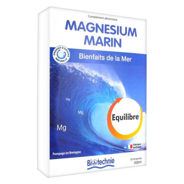Biotechnie Magnésium Marin 20 ampoules