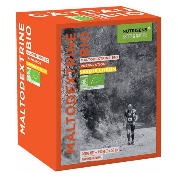 Nutrisens Sport Maltodextrine Bio Citron 450g