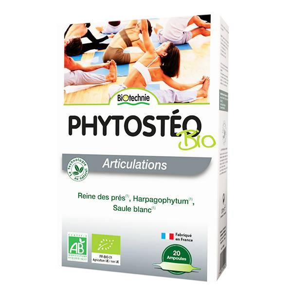 Biotechnie Articulations Phytostéo AB 20 ampoules