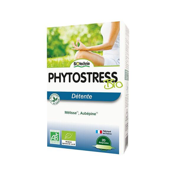 Biotechnie Détente Phytostress AB 20 ampoules