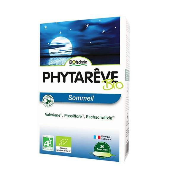 Biotechnie Sommeil Phytarêve AB 20 ampoules