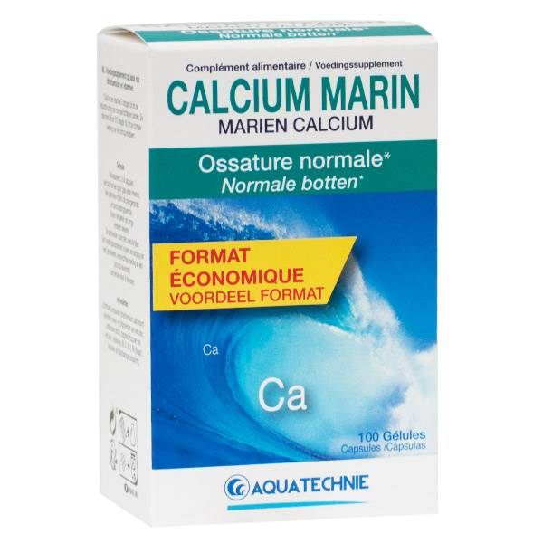 Biotechnie Calcium Marin 100 gélules