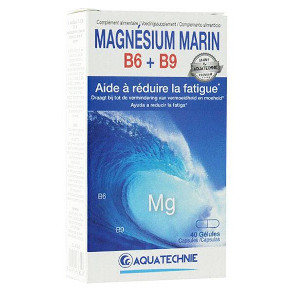 Biotechnie Magnésium Marin B6 + B9 40 gélules