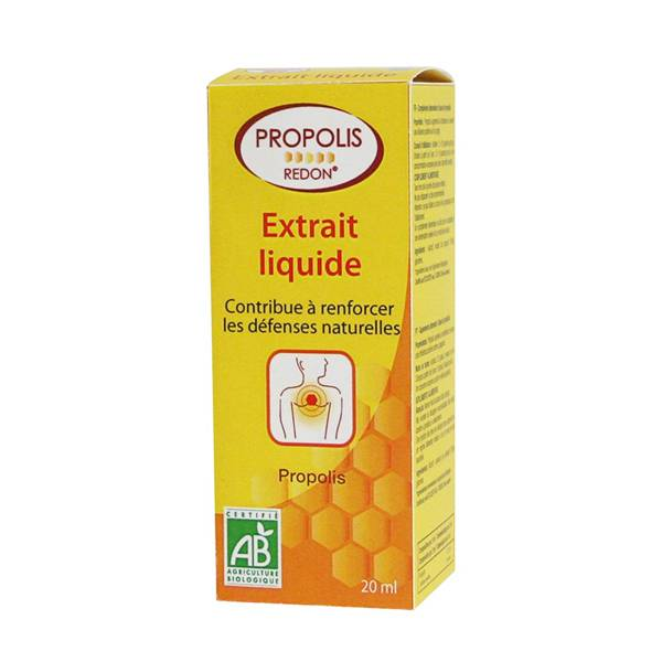 Redon Propolis Extrait liquide Bio 20ml