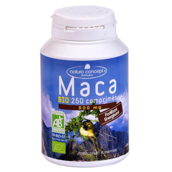 Naturo Concept Plantes d'Amazonie Maca Bio 250 comprimés