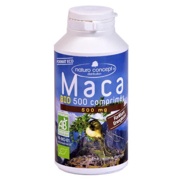Naturo Concept Plantes d'Amazonie Maca Bio 500 comprimés