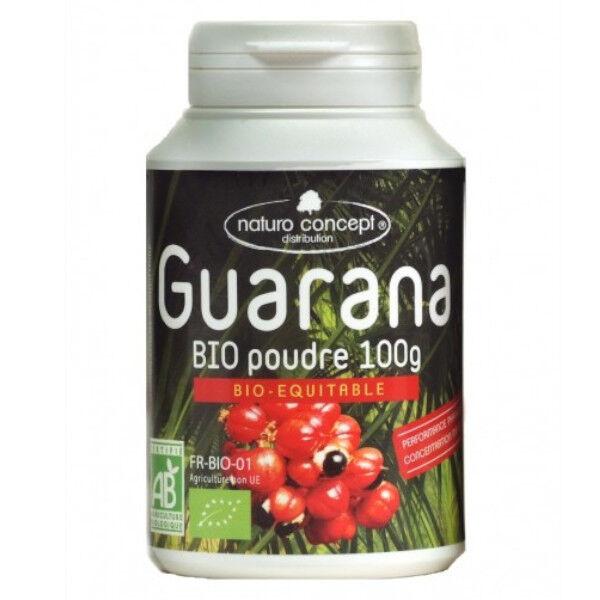 Naturo Concept Plantes d'Amazonie Poudre de Guarana Blanc Bio 100g