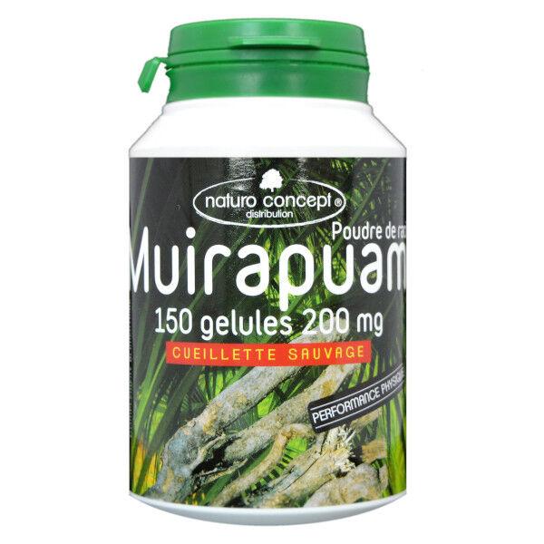 Naturo Concept Plantes d'Amazonie Muirapuama Bio 150 gélules