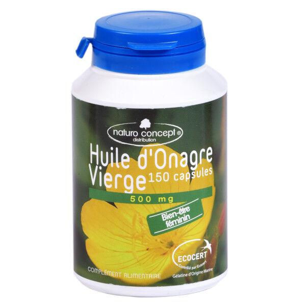 Naturo Concept Huile d'Onagre 500mg Bio 150 capsules