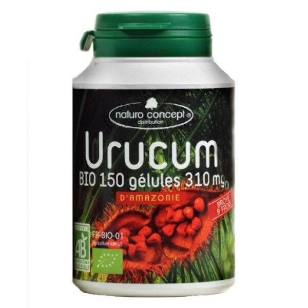 Naturo Concept Plantes d'Amazonie Urucum Bio 150 gélules