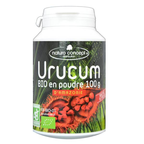 Naturo Concept Plantes d'Amazonie Poudre d'Urucum Bio 100g
