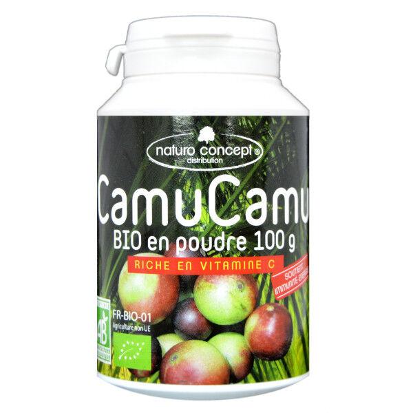 Naturo Concept Plantes d'Amazonie Poudre de Camu Camu Bio 100g