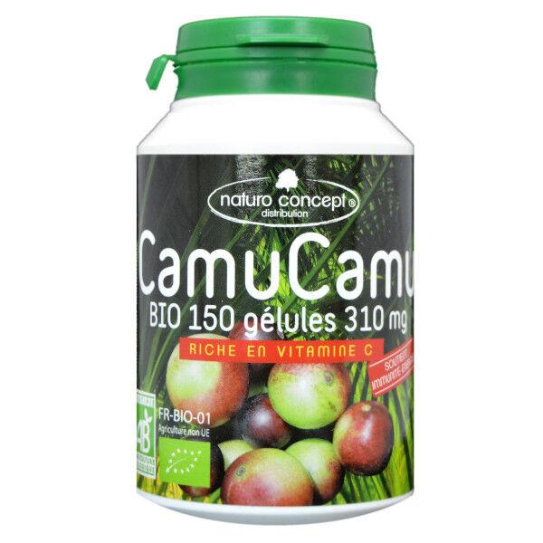 Naturo Concept Plantes d'Amazonie Camu Camu Bio 150 gélules