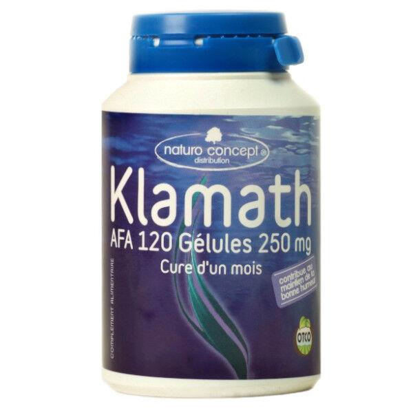 Naturo Concept Algues d'Eau Douce Klamath Bio 120 gélules