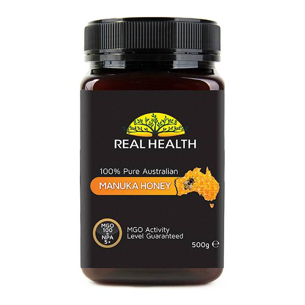Real Health Miel de Manuka 5+ pot de 500g