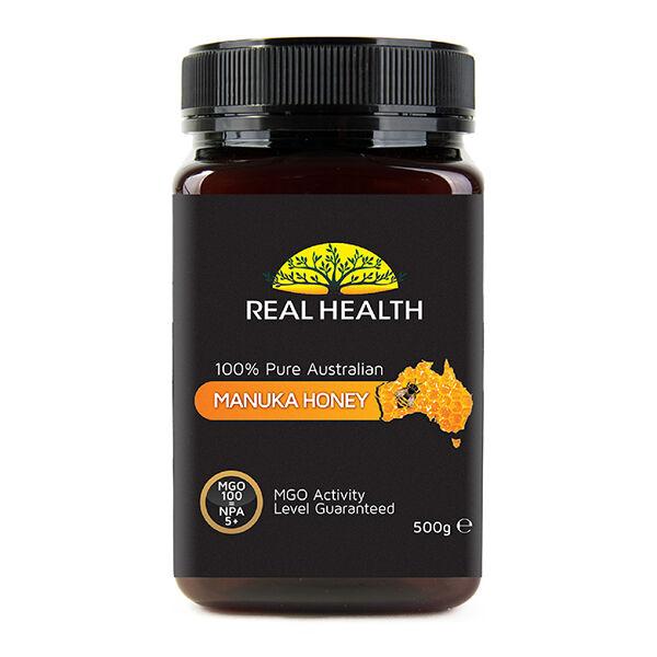 Phyto-Actif Real Health Miel de Manuka 5+ pot de 500g