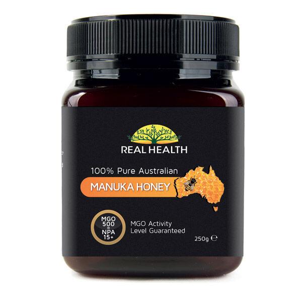 Real Health Miel de Manuka 15+ pot de 250g