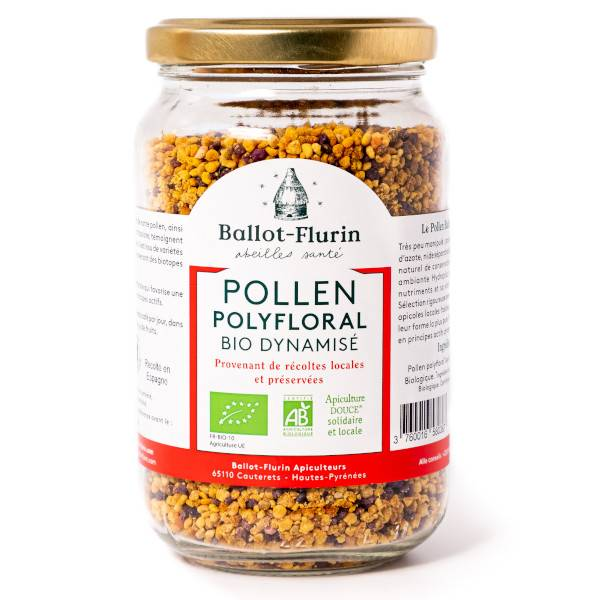 Ballot Flurin Ballot-Flurin Pollen Polyfloral Dynamisé Bio 210g
