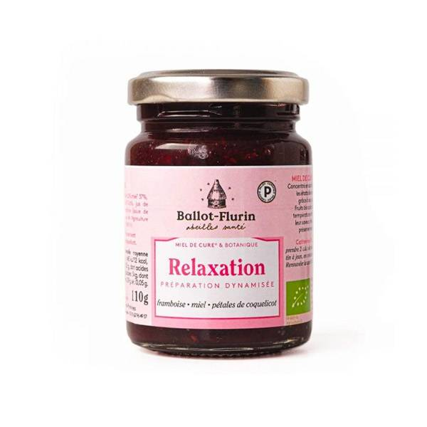 Ballot-Flurin Miel de Cure & Botanique Relaxation 110g