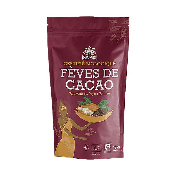 Iswari Fèves de Cacao Cru Bio 125g