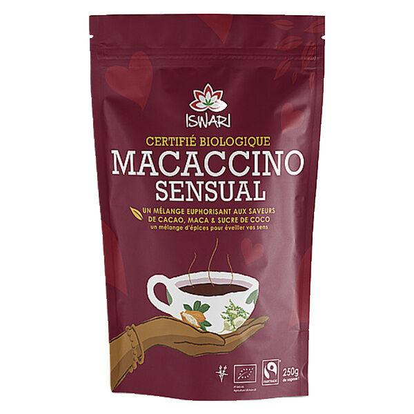 Iswari Macaccino Sensual aux Épices Bio 250g