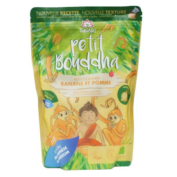 Iswari Petit Bouddha Petit Déjeuner Pomme et Banane Bio 400g