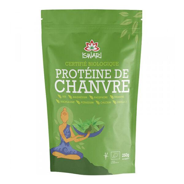 Iswari Protéine de Chanvre en Poudre Bio 250g