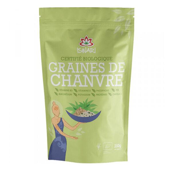 Iswari Graines de Chanvre Décortiquées Bio 250g