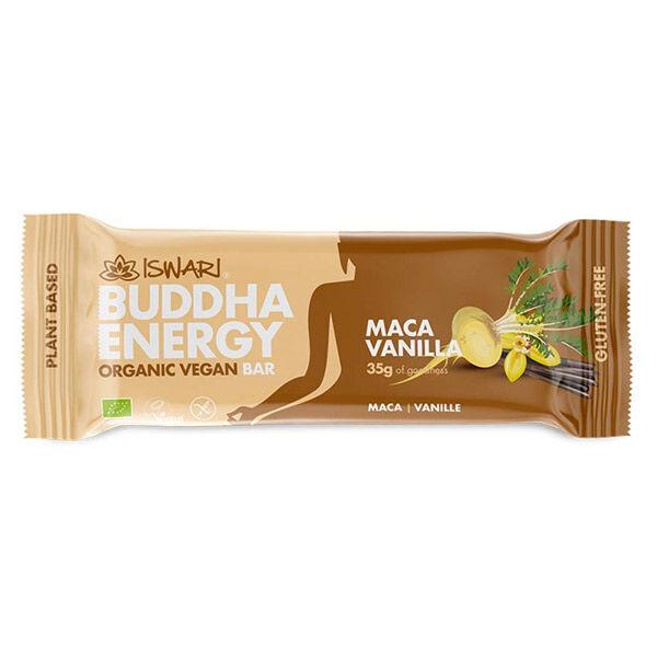 Iswari Barre Bouddha Energie Maca et Vanille Bio 35g