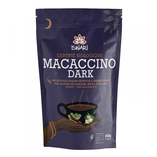 Iswari Macaccino Dark sans Sucre Bio 250g