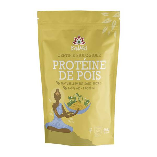 Iswari Protéine de Pois Bio 250g